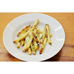 Garlic Parmesan Baked Fries