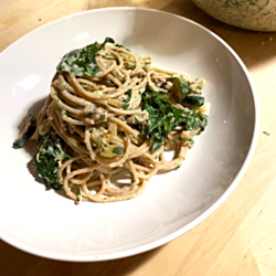 Pasta With Creamy Yogurt Herb Sauce