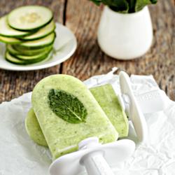 Cucumber Mint Paletas