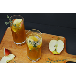 Ginger Spiced Cider Cocktail