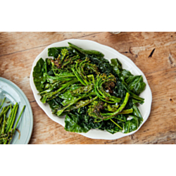 Sautéed Broccolini and Collard Greens