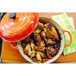 Edna Lewis's Steamed Chicken in Casserole