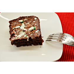Christmas Fudgy Brownies