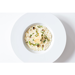 Champagne Risotto with Grilled Artichokes
