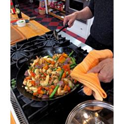 Pork, Shrimp and Vegetable Stir Fry with Oyster Sauce