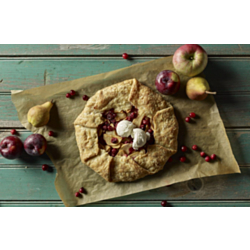Eva's Cranberry Apple Galette