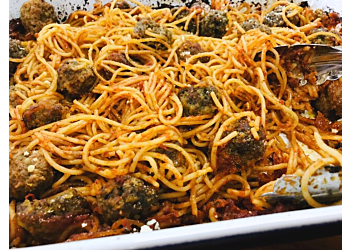 One Pan Spaghetti & Meatballs (adapted from America's Test Kitchen)