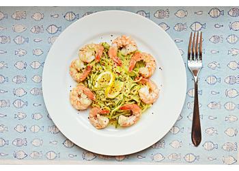 Lemon Garlic Butter Shrimp with Zucchini Noodles
