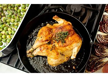 Cast Iron Chicken with Lemon and Thyme