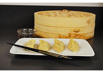 Shiitake Tofu Dumplings