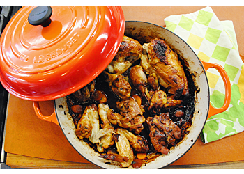 Edna Lewis's Steamed Chicken in Casserole