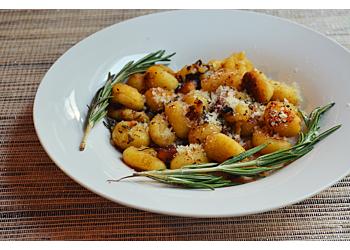 Sweet Potato Gnocchi with Rosemary Parmesan Cream Sauce