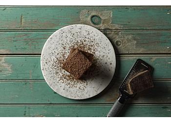 Suzie's Spicy Fudgy Brownies with Smoky Dark Chocolate Frosting
