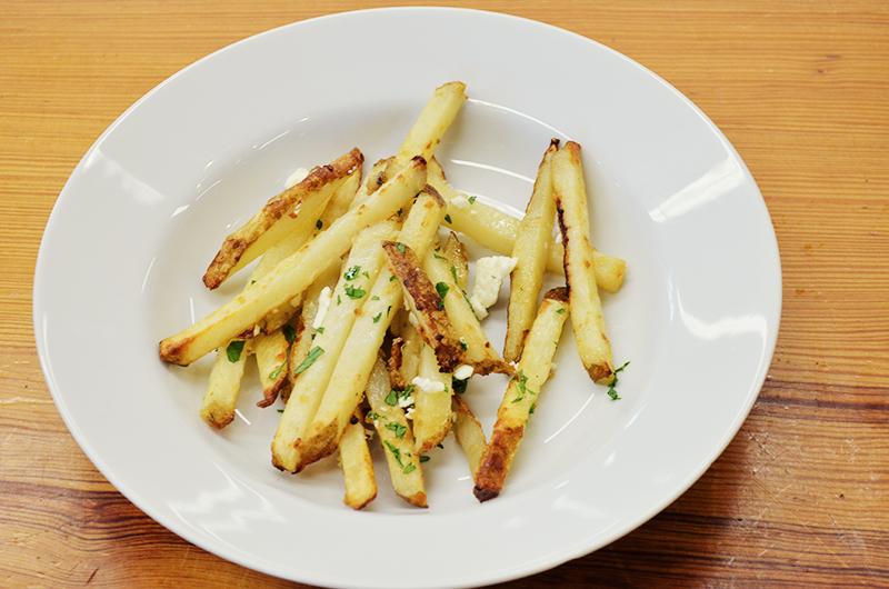 Garlic Parmesan Baked Fries