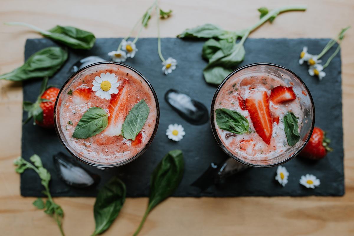 Strawberry Balsamic Soda