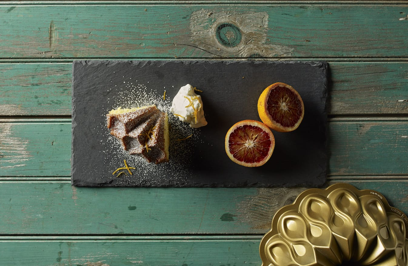 Liz's Blood Orange Olive Oil Cake
