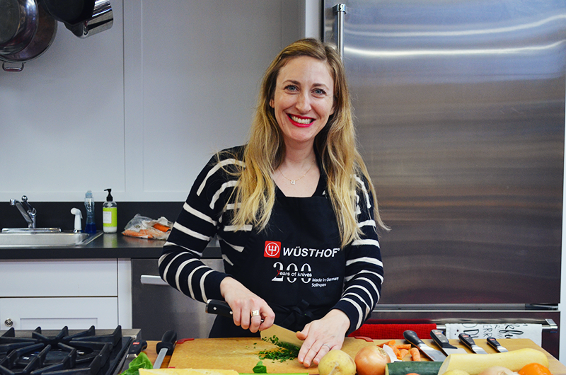 Sharpen Your Knife Skills with Megan Rich of Wüsthof Cutlery