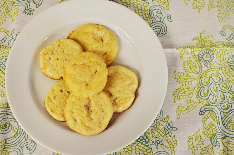 Lime Shortbread Cookies