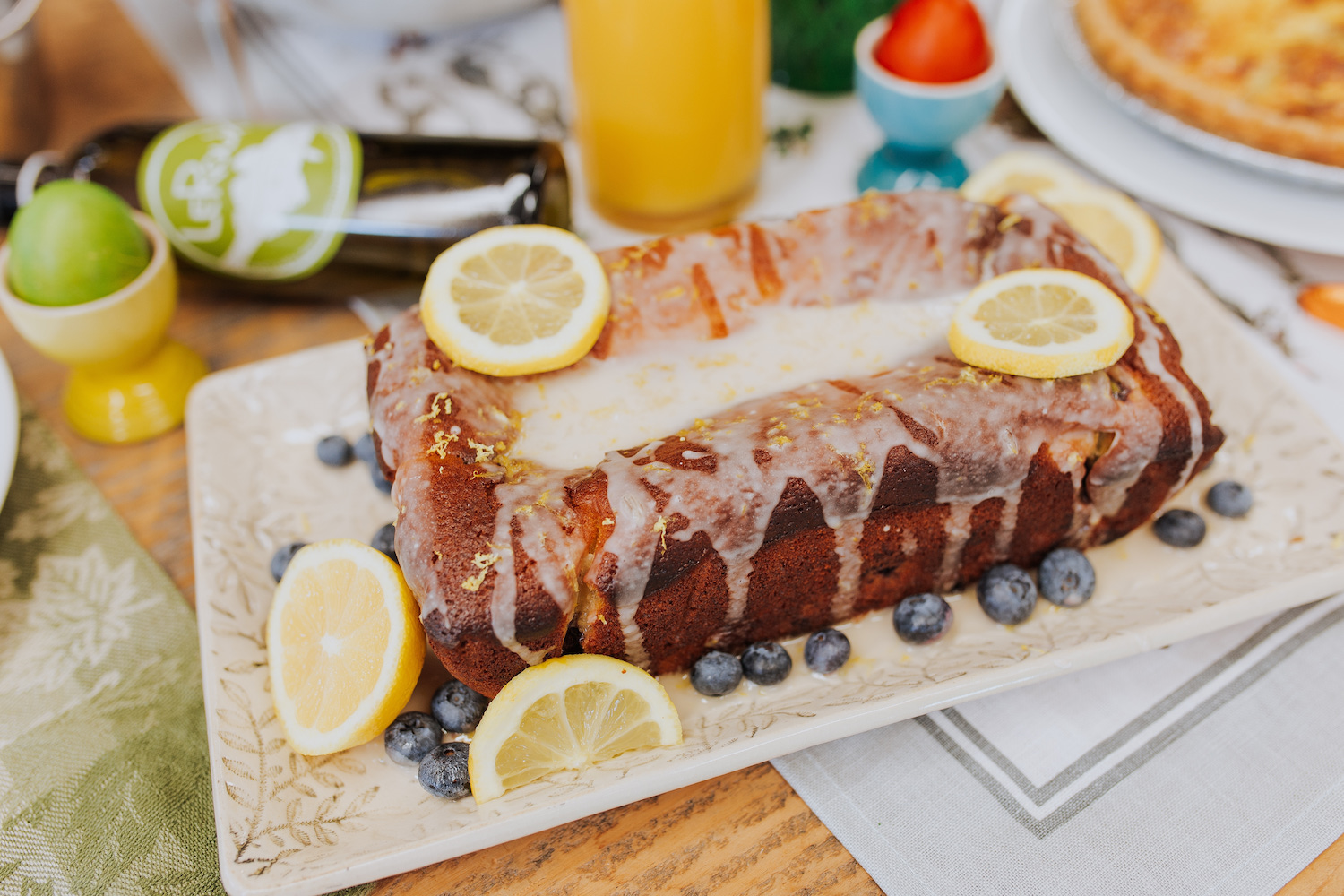 Easter Brunch Lemon Loaf