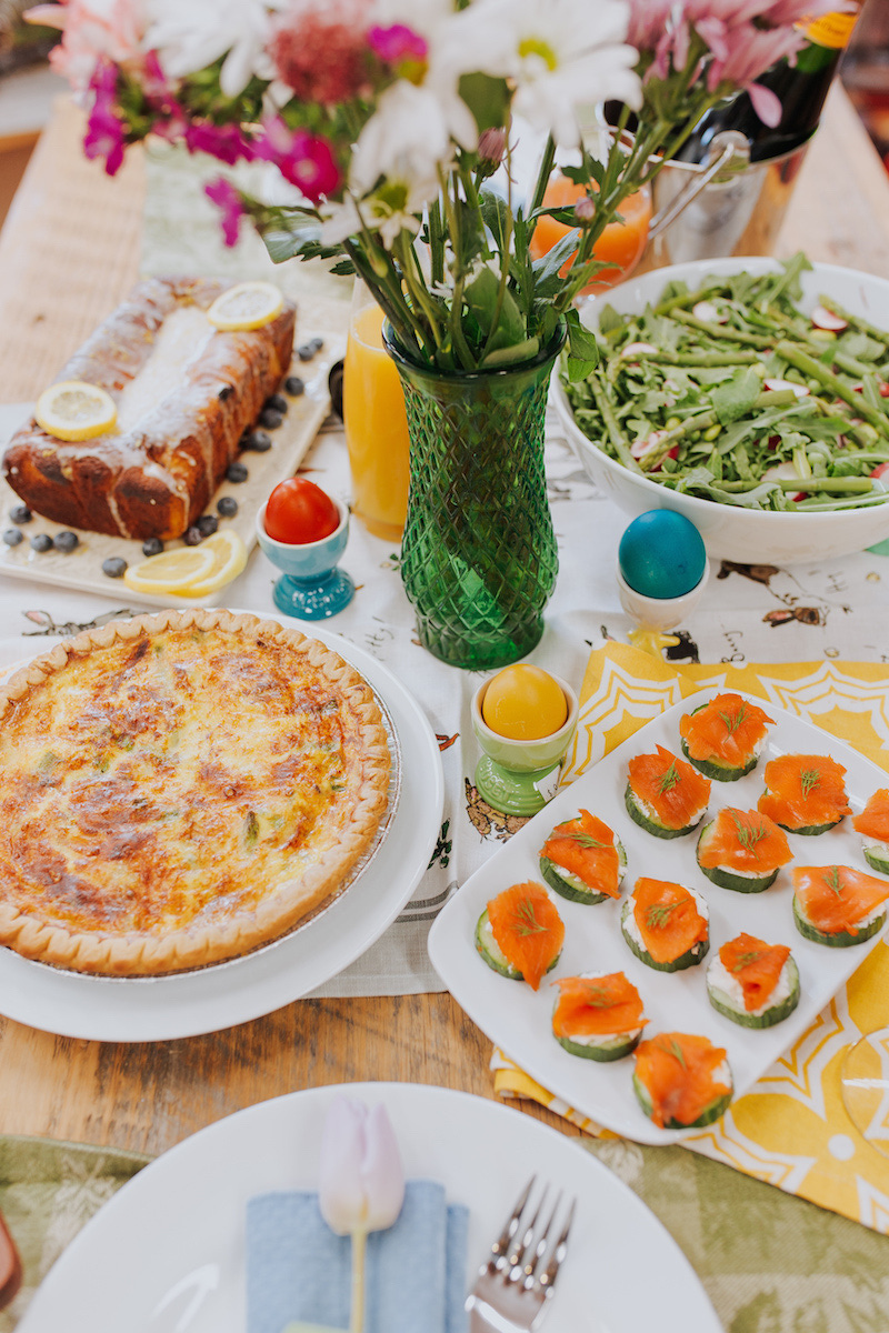 Easter Brunch Plate